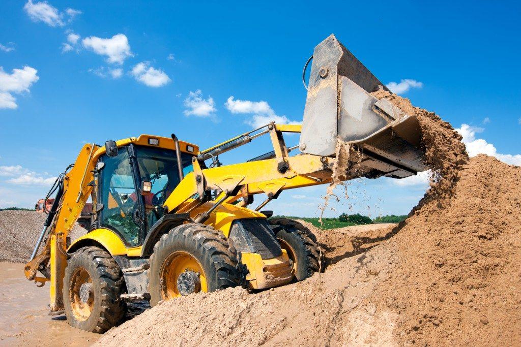 a construction scraper