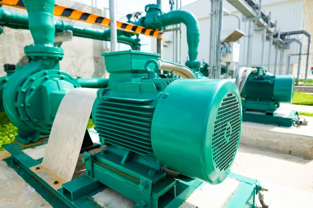large centrifugal pump