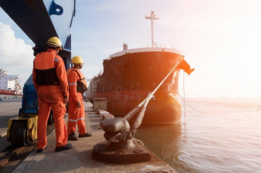 docking a ship
