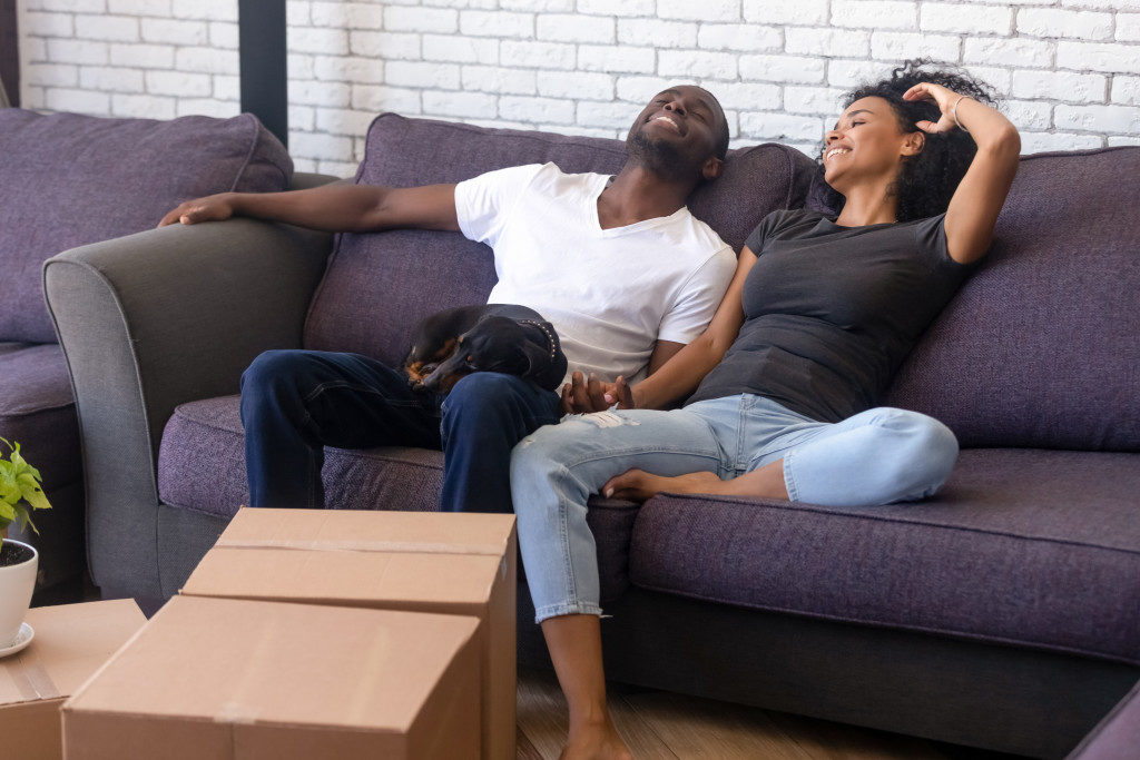 Tenants who just moved in