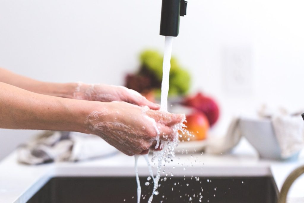 washing