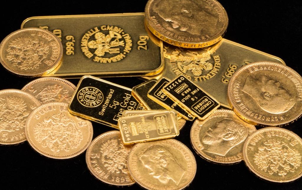 gold coins metals
