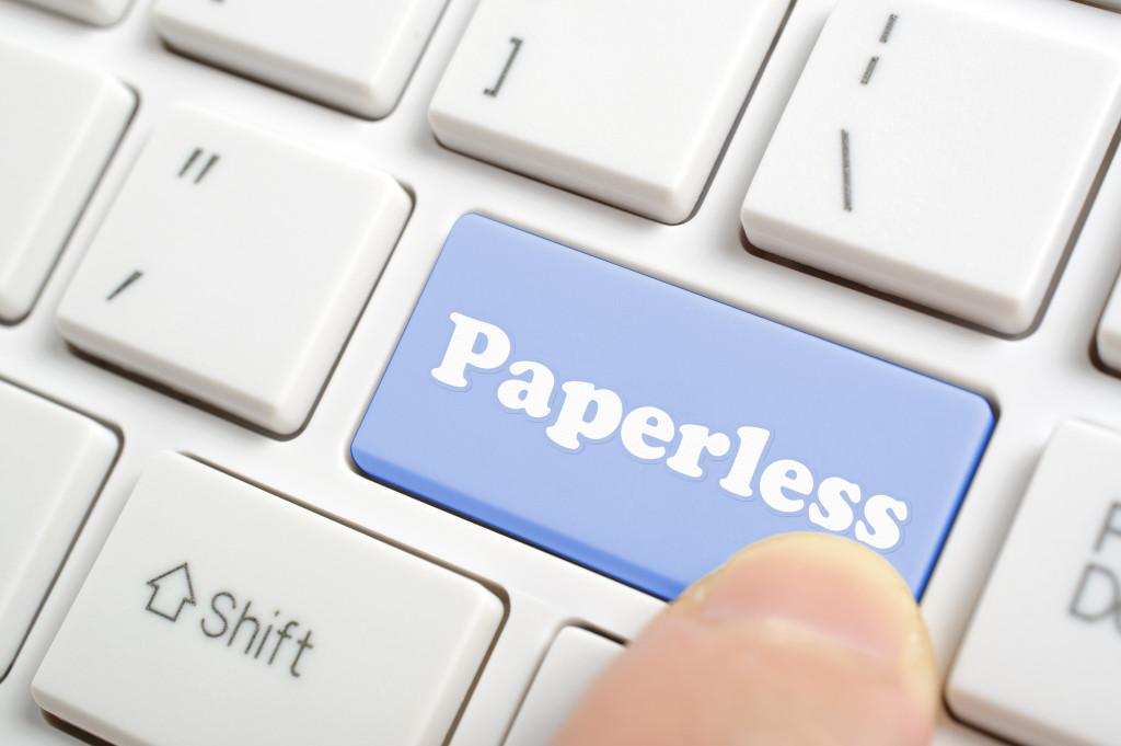 paperless button